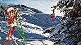 Bariloche,    argentina,    cablecarril al cerro catedral de 3/4/1976