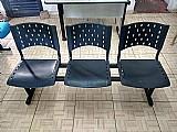 Cadeira para igreja 03 lugares - direto da fabrica!