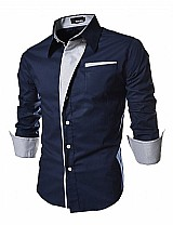 Camisa masculina royw em algodao slim fit