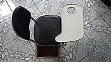 Cadeira para manicure com gaveta e apoio de mã£o