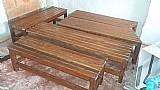 Bancos de madeira  macica