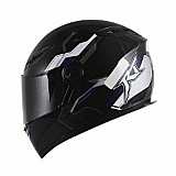 Capacete race tech rt501 monocolor preto - 59/60-(g/l)