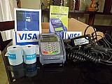 Maquina leitora de cartao de credito