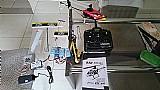 Helicoptero blade 200 srx,  4 baterias, maleta, pecas reposicao