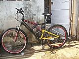 Bicicleta aro 26 com amortecedor