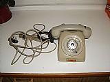 Telefone antigo de discagem londrina