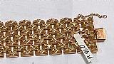 Pulseira em ouro 3 cores modelo bracelete