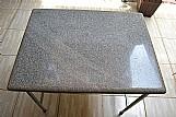 Mesa tampo granito cinza