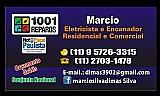 Eletricista e encanador na regiao da av.paulista, bela vista