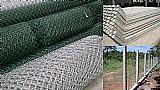 Tela alambrado / mouroes de concreto - fabricacao propria - atibaia e regiao
