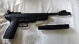 Pistola de pressao crosman benjamin trail np cal. 4,    5mm - nitro piston