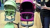 Limpeza de carrinhos de bebe