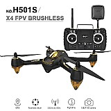 Drone hubsan 501s - transmissor profissional - pronta entrega