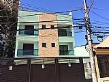 Apartamento sem condominio 2 dormitorios sendo 1 suite,  1 vaga na vila assuncao - santo andre.