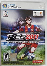 Pro evolution soccer - pes 2011- pc-dvd