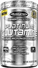 Platinum 100% glutamine - muscletech (302g)