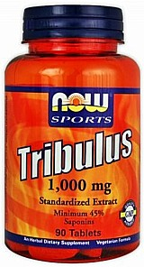 Tribulus terrestris 1g - now foods (90 capsulas)
