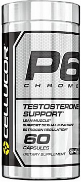 P6 chrome - cellucor (60 capsulas)