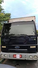 Caminhao ford cargo 815e 2007 otimo estado bau .