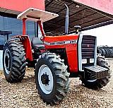 Trator massey ferguson modelo 290 ano 1985