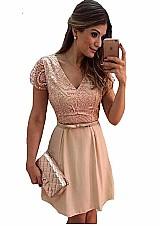 Vestido feminino modelo casual