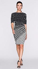 Vestido feminino xadrez