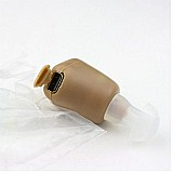 Mini aparelho auditivo axon k-88 amplificador de som recarregavel