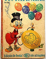 Almanaque tio patinhas n. 8 - dezembro/1965 - raro