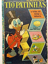 Almanaque tio patinhas n. 9 - fevereiro/1966 - ed. abril -  raro