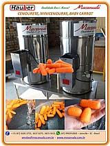 Equipamento para agroindústria de minicenouras cenourete macanuda