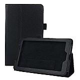 Capa de couro magnetica tablet acer iconia a1-713-preto