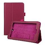 Capa de couro magnetioca tablet acer iconia a1-713-rosa