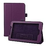 Capa de couro magnetioca tablet acer iconia a1-713-roxa