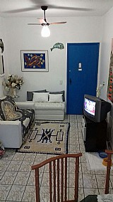 Apartamento mobiliado 1 dormitorio 54 mâ² no guaruja - praia da enseada.