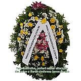 Coroa de flores para velorio - funeral house bh&8206;