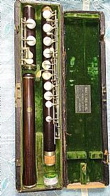 Flauta transversal madeira