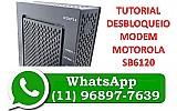Desbloqueio modem sb6120