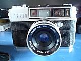 Camera japonesa taron antiga funciona fazer limpeza na lent