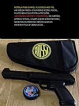 Pistola p900 gamo, bolsa e chumbos