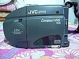 Antiga filmadora vhs fita 12 m jvc grava funciona perfeita