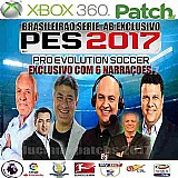 Pes 2017 patch oficial xbox360 ! leiam a descricao