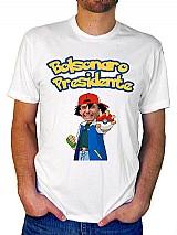 Camisa personalizado com diversas estampas incluindo bolsonaro presidente,  dr. sergio moro e dr. eneas