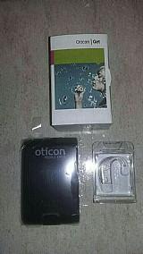 Oticon aparelhos auditivos novos na caixa