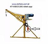 Mini grua 300 kl reforcada extra forte dir fabrica deferro  47 9 92753316