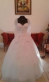 Vestido de noiva branco,  novo,  pronta entrega