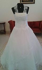 Vestido de noiva off white,  novo,  pronta entrega.