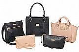 Bolsas em couro legitimo varias cores e modelos