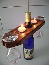 Suporte para garrafa de vinho