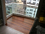 Deck para sacada / trelica / painel / floreira