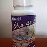 Óleo de alho e soja em capsulas - promel capsulas: 120 de 500mg